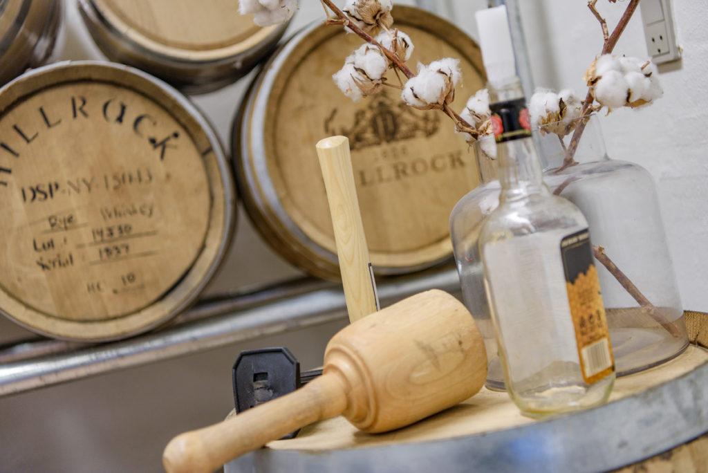 Duften af egetræ og whiskey er intet mindre end fantastisk.